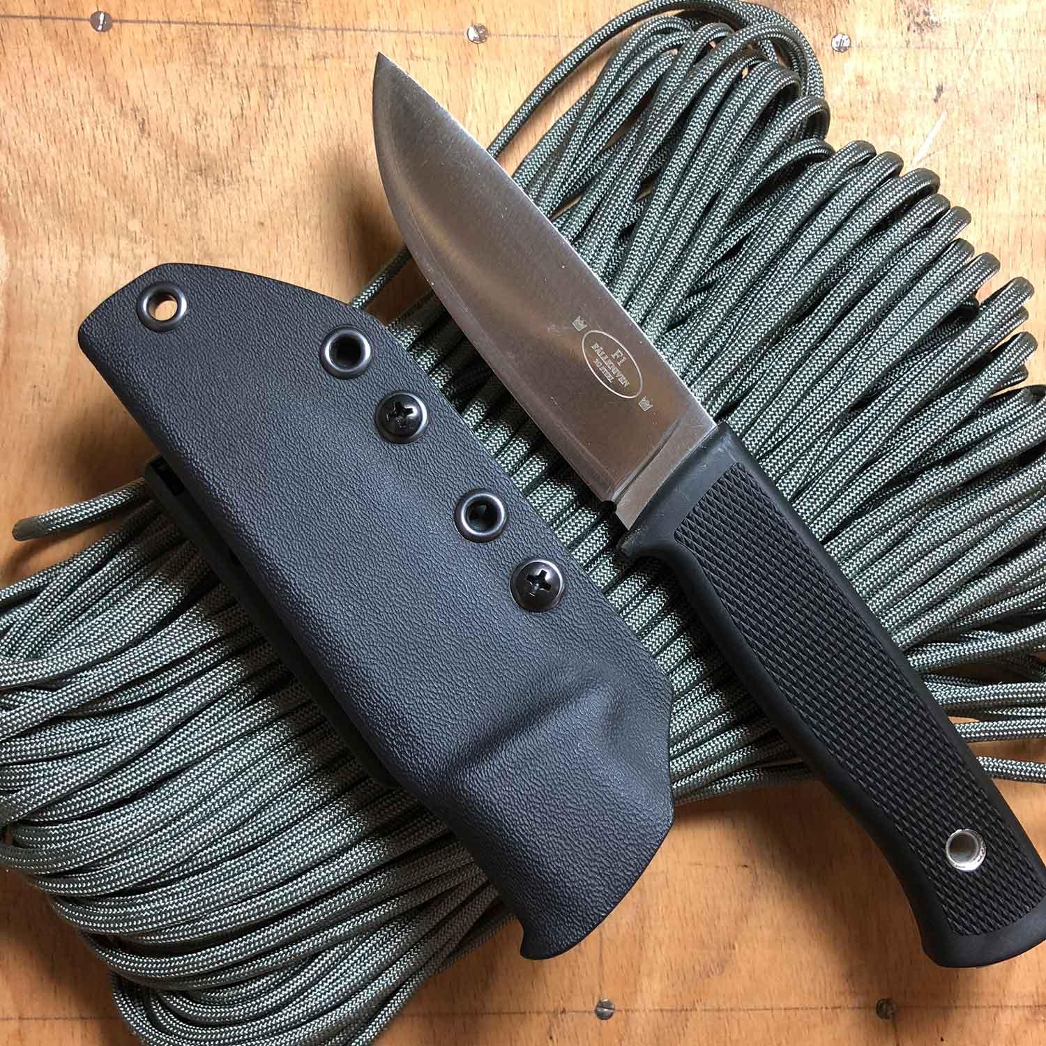 kydexscheide wolfknives schwarz f r f llkniven f1 wolfknives feines werkzeug handwerk. Black Bedroom Furniture Sets. Home Design Ideas