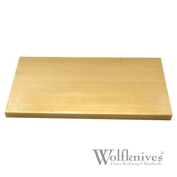 Messing Platte - 5 mm