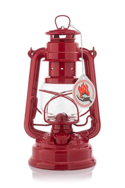 Feuerhand Sturmlaterne rot