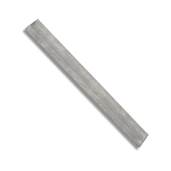 D2 Stahl - 500 x 45 x 3 mm