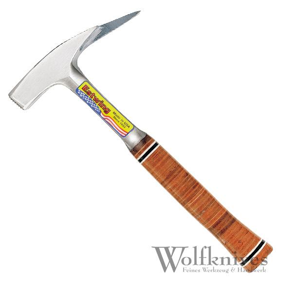 Estwing Latthammer mit Magnet und Ledergriff - rauhe Bahn