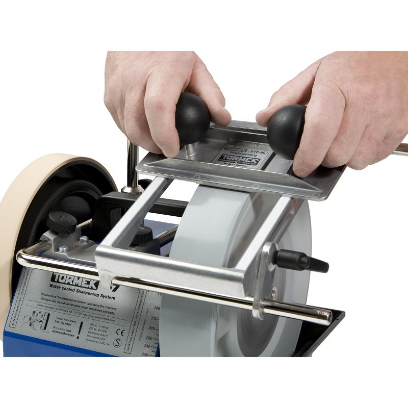 tormek vorrichtung f r profilmesser svp 80 wolfknives feines werkzeug handwerk. Black Bedroom Furniture Sets. Home Design Ideas