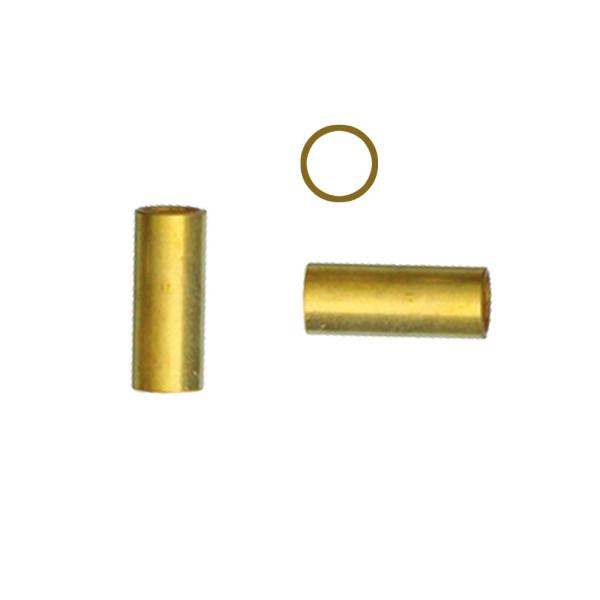 Messingröhre Ø 4,7 / Länge 11,7 mm