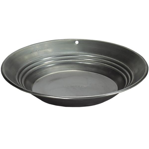 Estwing Goldwaschpfanne aus Stahl - 35 cm Durchmesser