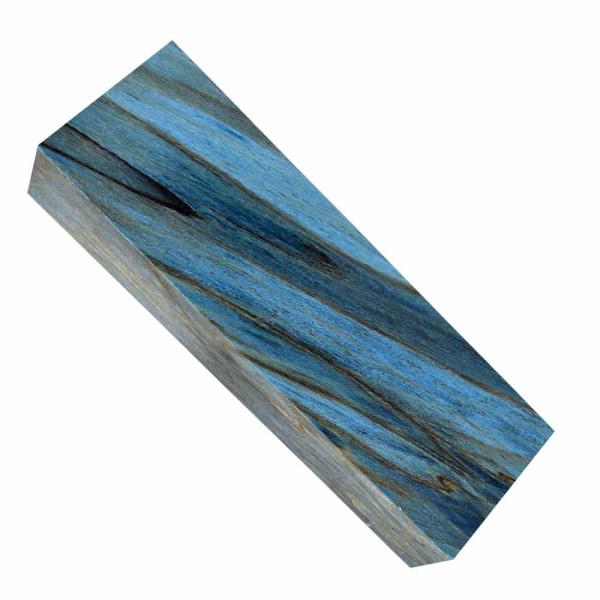 Stabilisierte Maserbirke - blau
