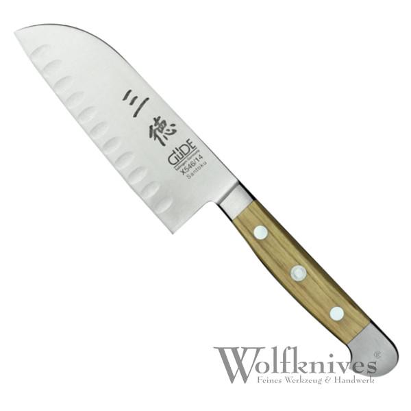 Güde Santoku (Kulle) 14 cm Serie Alpha Olive X546/14