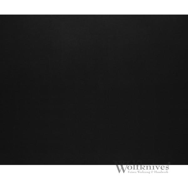 Leder - schwarz - quadratisch 20 x 20 cm