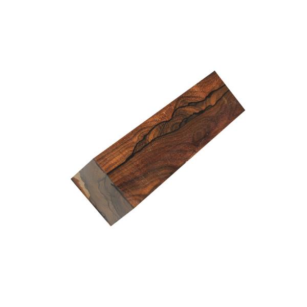 Ziricote Kantholz - klein 40 x 40 x 150 mm