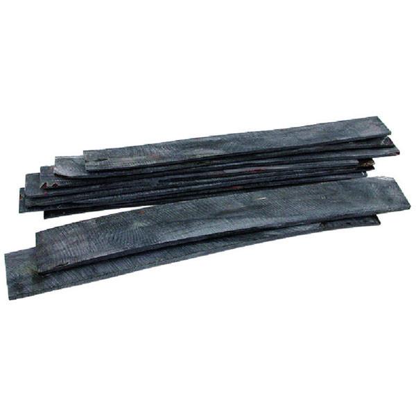 Wasserbüffelhorn-Platten - extralang - 4 mm stark