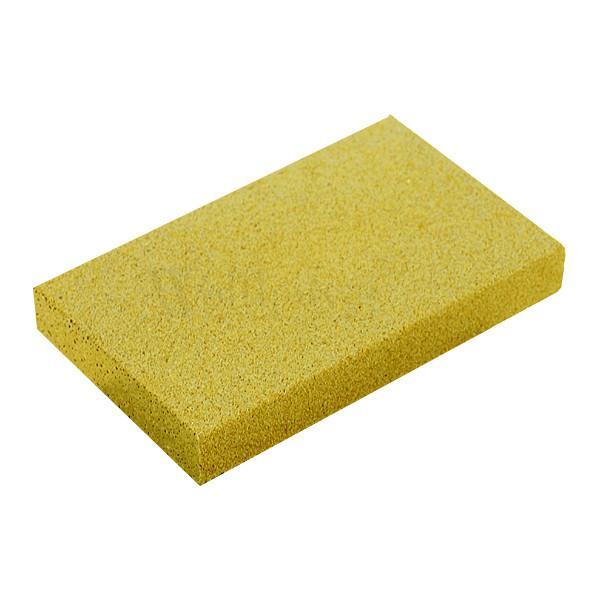 Rost-Radierer - grobe 60er Körnung (gelb)