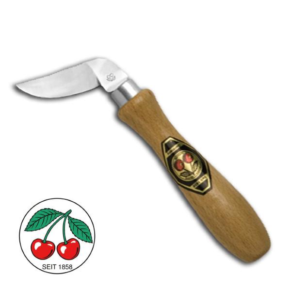 Kirschen® Kerbschnitzmesser Nr. 10 - seitwärts gebogene Schneide