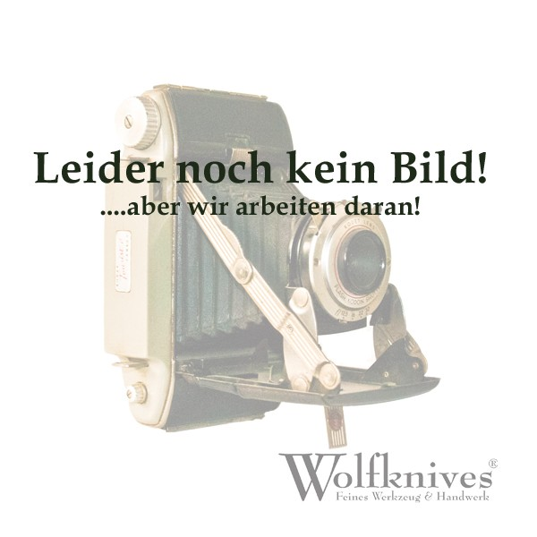 Wolfknives® Lanyard N°2 mit Silberring - hellblau/silbergrau
