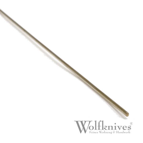 Neusilber Stab - Ø 3 mm