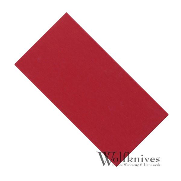 Vulkanisiertes Fiber - rot - 0,8 mm