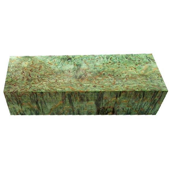 Stabilisierte Maserbirke grün