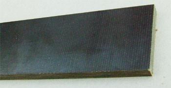 Griffmaterial Micarta - grüner Canvas 6.5 mm