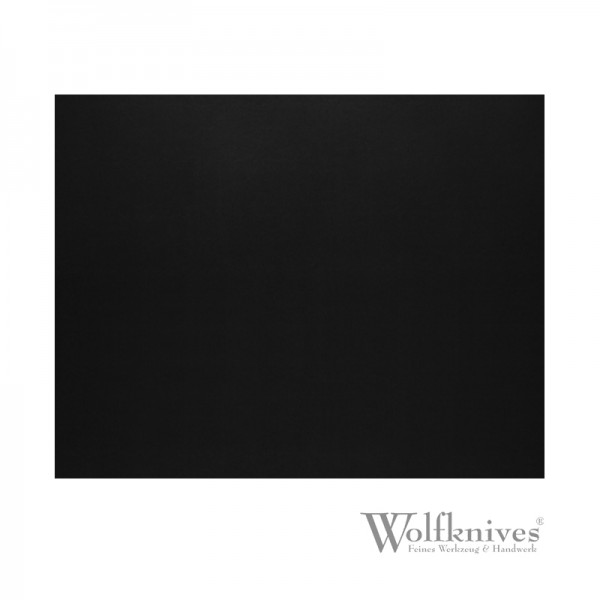 Lederzuschnitt schwarz - 12 x 15 cm