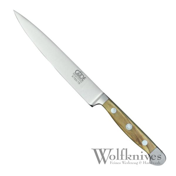 Güde Zubereitungsmesser 16 cm Serie Alpha Olive X765/16