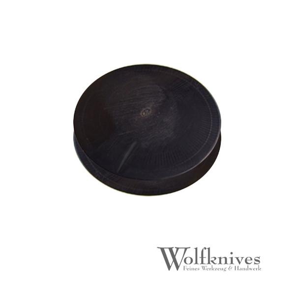 Büffelhornplatte - rund