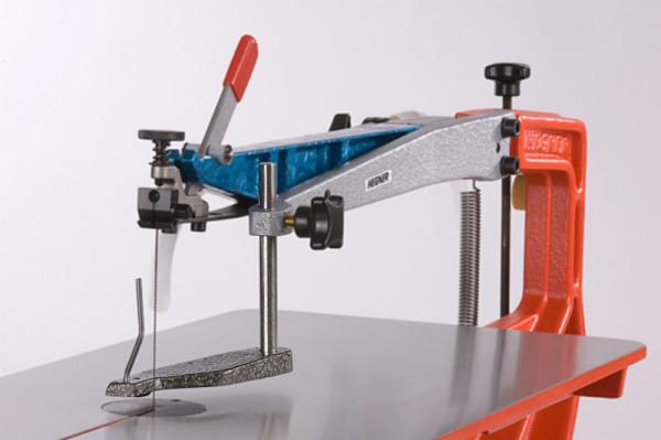 Werkstückniederhalter für Hegner Multicut 1