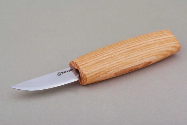 Beaver Craft Schnitzmesser C1 mit kurzer, gerader Schneide