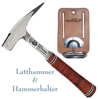 Estwing Kombiset Latthammer mit Magnet & Hammerbügel